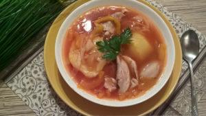 вкусный рецепт армянского куриного супа
