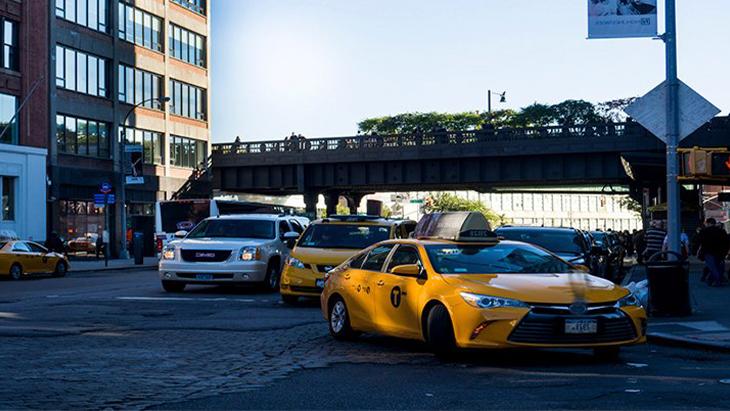 Самозанятые в такси