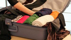 как сэкономить место в чемодане